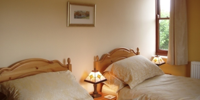 Lethera twin room at Wainwright House, Bed and Breakfast, Kendal, Lake District