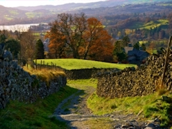 View of the Lake District near Ambleside