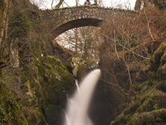Aira Falls in the Lake District